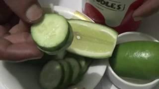 মুখের ব্রুন ও কালো দাগ সারানোর একদম সহজ উপায়। Health Benefits Of Cucumber And Lemon