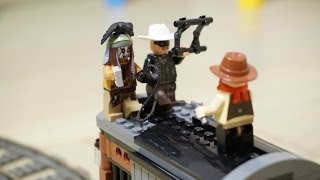 LEGO 79111 with MINDSTORMS - The Lone Ranger movie TEASER by 뿡대디