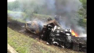 Acidente com carreta de eucalipto mata motorista na BR-101