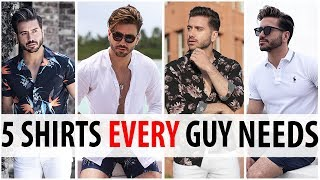 5 Summer Shirts Every Guy Needs | Men