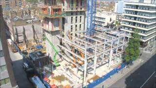 Construction Time Lapse - 11 Baker Street London