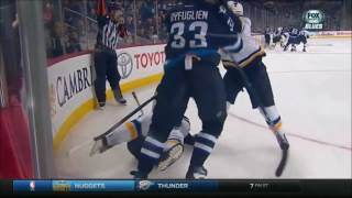 Dustin Byfuglien the Train