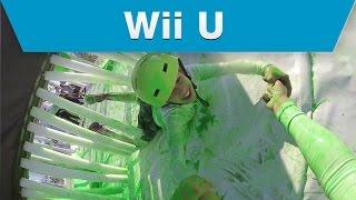 Wii U - Splatoon Mess Fest Action Highlights