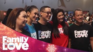 ABS-CBN Christmas Station ID 2018: Family Is Love   Behind-The-Scenes