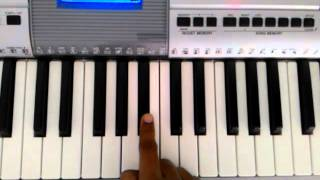 Apsara Aali Keyboard Tutorial