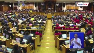 Watch the moment EFF MP Godrich Gardee called President Zuma