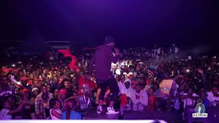 Eddy Kenzo performs ZIVUGA Live - Galaxy FM Zzina Sosh 2017 at Lido Beach