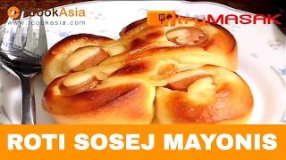 Roti Sosej Mayonis
