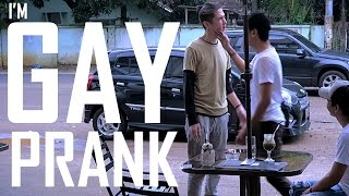 I'M GAY PRANK ON MY BESTFRIEND - INDONESIA