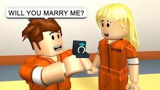 GETTING MARRIED IN PRISON! - Roblox Jailbreak Roleplay