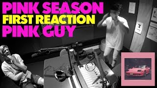 PINK GUY - PINK SEASON FIRST REACTION/REVIEW (JUNGLE BEATS RADIO)