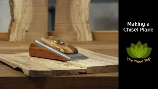 How I make a Chisel Plane - Woodworking
