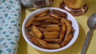 வாழக்காய் ப்ரை | Vazhakkai Fry Recipe - செய்முறை