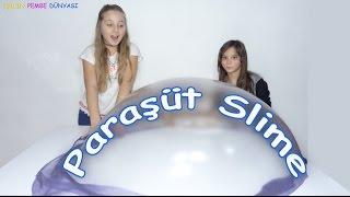 Paraşüt Slime Challenge Jöleli ve Traş Köpüklü - Eğlenceli Çocuk Videosu - Funny Kids Videos
