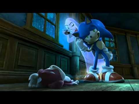 Sonic la noche del erizo lobo