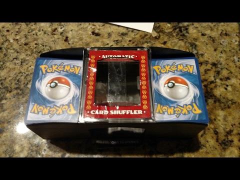 Automatic Pokemon Card Shuffler Review!