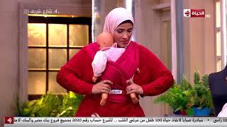 4 شارع شريف - فقرة الورشة مع ولاء إبراهيم - مصنٍعة شيالات أطفال
