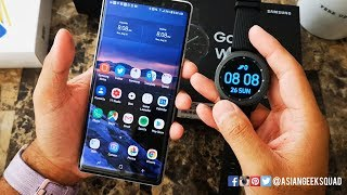 Samsung Galaxy Watch - Customize (Watch Face, Apps, Notifications, Widgets)