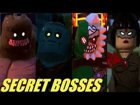 LEGO DC Super-Villains - All Secret Boss Fights