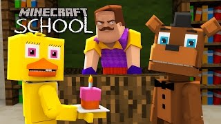 Minecraft School - HELLO NEIGHBOUR BECOMES OUR HEADMASTER!?