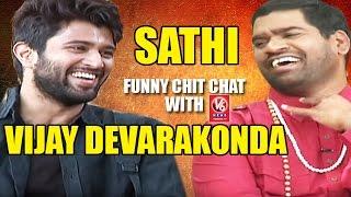 Bithiri Sathi Funny Chit Chat With Actor Vijay Devarakonda || Dwaraka || Weekend Teenmaar News
