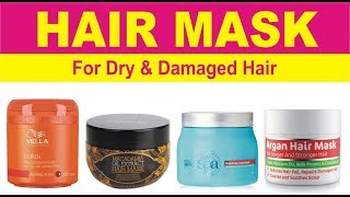 Best Hair Masks or Deep Conditioners in India with Price | Hair Treatment for Dry & Damaged Hair