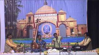 Sri Swapan chakraborty is performing an evening raga SudhKalyan.
