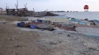 سوق السمك بمدينة ميدي.. من سوق مركزي للأسماك إلى أشباح حرب  | تقرير سعد القاعدي