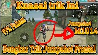 Tutorial Jump Shot Frontal Gaming !! Tips & Trik Shotgun - Garena Free Fire