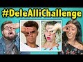 College Kids React To #DeleAlliChallenge (Three Fingers Challenge)