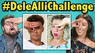 College Kids React To #DeleAlliChallenge (Three Fingers Challenge)