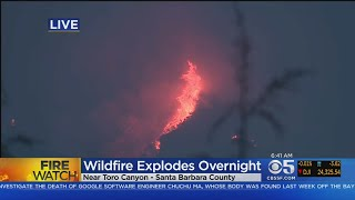 Massive SoCal Wildfire Explodes As Firefight Enters 2nd Week