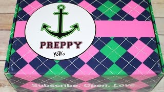 Preppy Pak January 2017 Unboxing