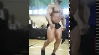 Bodybuilder Knocked Out !!!