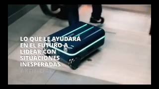 TravelMate, La Maleta Robot que te acompaña en tus viajes