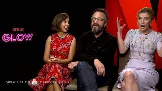 Backstage with Alison Brie, Betty Gilpin & Marc Maron for GLOW | Netflix Original