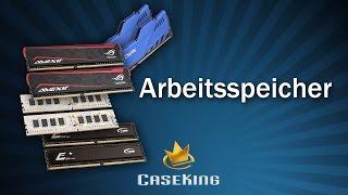 Arbeitsspeicher Beratung - Caseking TV