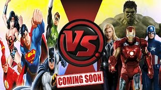 JUSTICE LEAGUE vs AVENGERS! TOTAL WAR! Cartoon Fight Club Trailer!