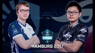 Dota 2 - Team Liquid vs. Team Secret - Game 2 - Semifinal - ESL One Hamburg Major 2017