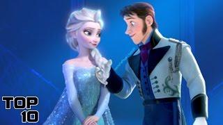 Top 10 Worst Disney Couples