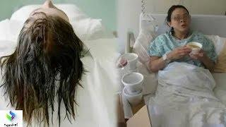 امرأة بعمر 32 سنة تنام وشعرها مبتل وفي اليوم التالي كانت الصدمة...!!!