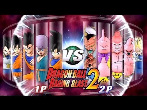 Dragon Ball Z Raging Blast 2 Saiyans VS. Majins Battle Of God News