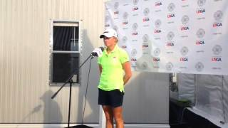 U.S. Women's Open Video: Stacy Lewis was energized by the crowd