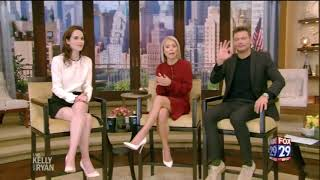 Michelle Dockery Nice Legs On Live With Kelly