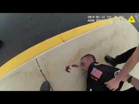 Xxx Mp4 Police Body Cam Captures Violent Arrest Of Belligerent Man In Vineland 3gp Sex