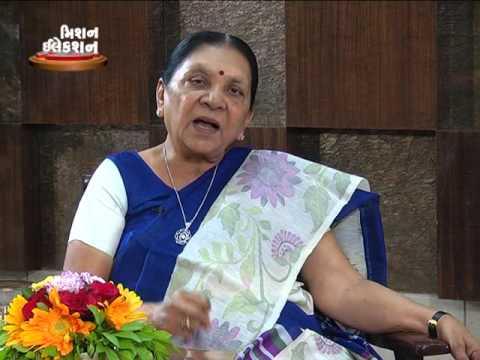 Gujarat CM Anandiben Patel live Speech Video | Interview by Devang Bhatt