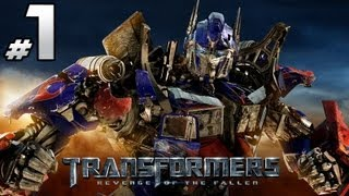 Transformers Revenge Of The Fallen - Autobot Campaign - Part 1 - Get Motivated or Get Blasted!