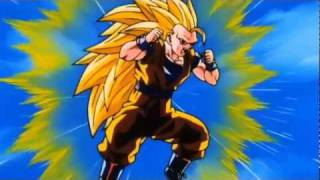 DBZ Goku Super Saiyan 3 Vs Super Buu Gotenks Absorbed