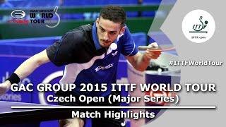 Czech Open 2015 Highlights: FREITAS Marcos vs YOSHIMURA Maharu (1/2)