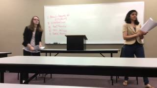Anoka Technical College, Public Speaking Class: Debate on Free Education